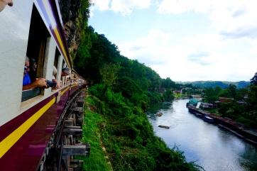 Amazing view of Death Railway Bridge