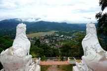 The view from Phra That Doi Kong Mu