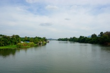 View from River Kwai Bridge
