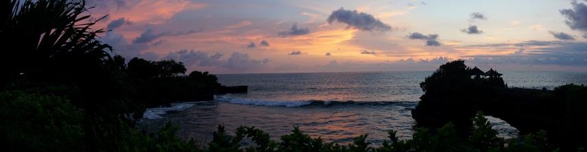 Sunset Time at Pura Batu Belong