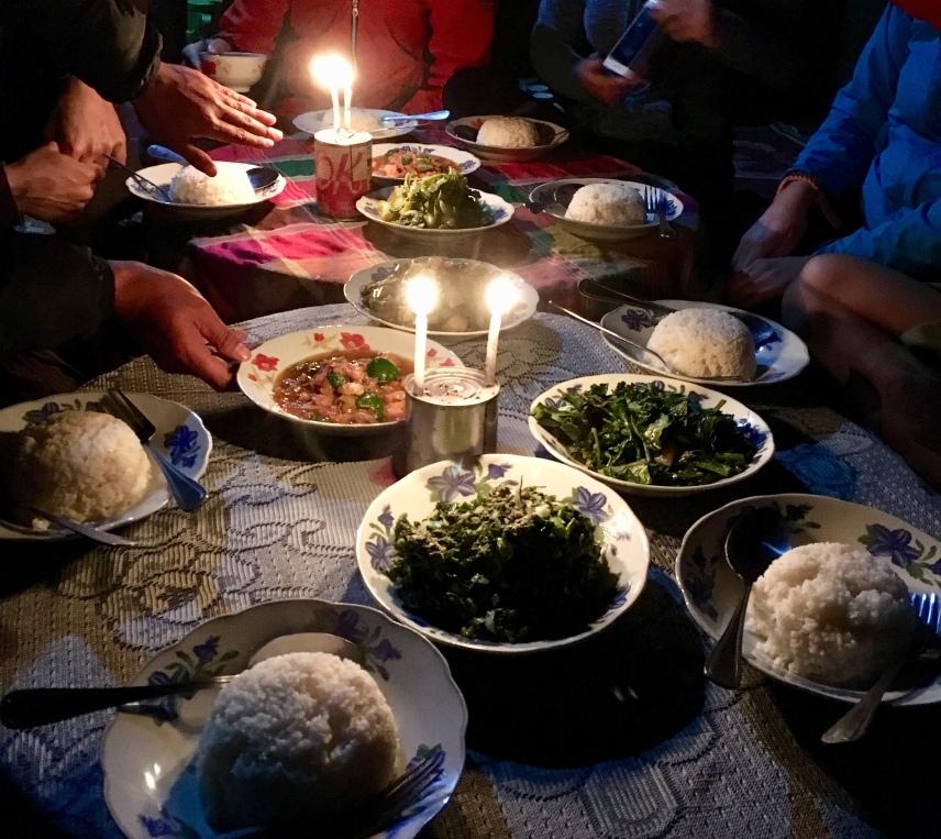 Dinner-time!