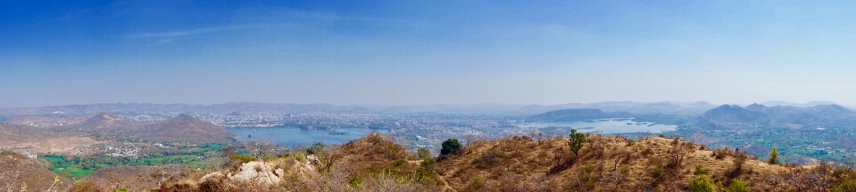 View from Monsoon Palace