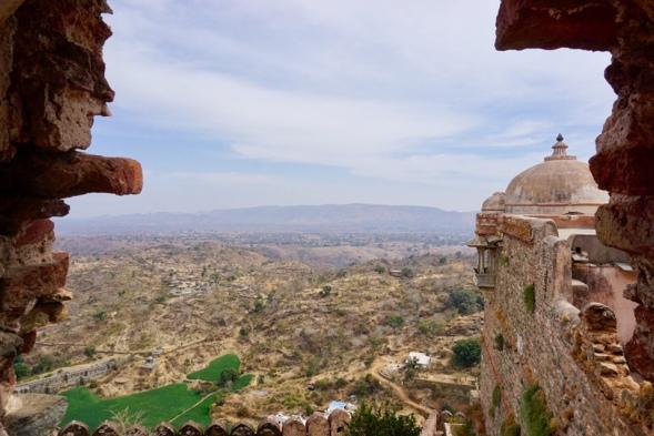 View from Kumbhalgarh