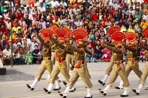Wagar Border Ceremony